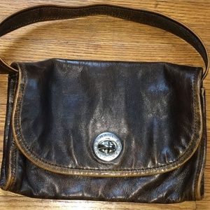 Marc Jacobs By Marc Jacobs Brown Leather Shoulder